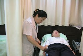 Acupuncturist Yu did acupuncture on a patient